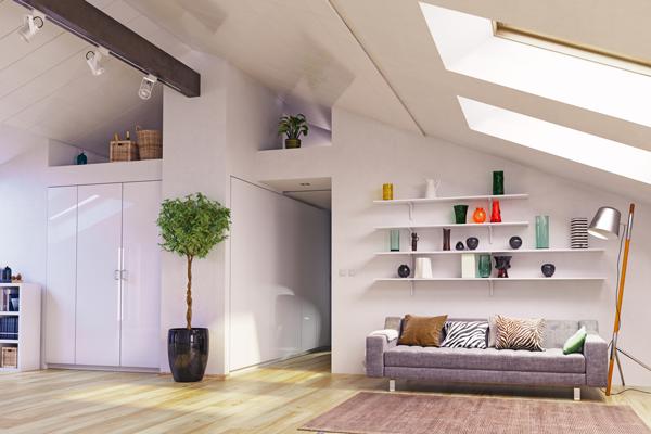 屋根裏を活用して使える空間を増やそう!