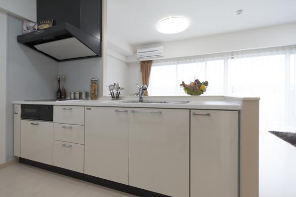 便利なキッチン設備5:ディスポーザー